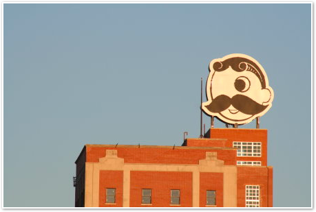 Natty Boh Tower Close