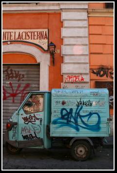 Trastevere Graffiti
