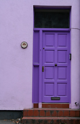 Kinsale Purple Door