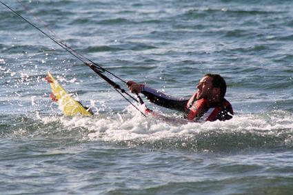 Garrylucas Beach Parasurfing